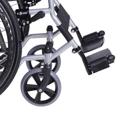 Кресло-коляска для инвалидов Армед H 007. Регулируемые подножки