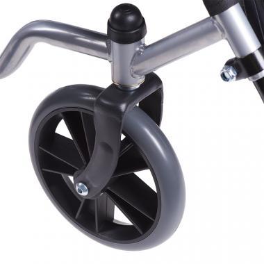 Кресло-коляска для инвалидов Армед H 007. Особенность колес