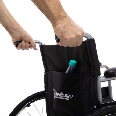 Кресло-коляска для инвалидов Армед H 007. Дополнительные детали