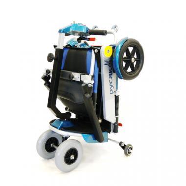 Электроскутер для пожилых и инвалидов Меркурий Русак. Складная конструкция