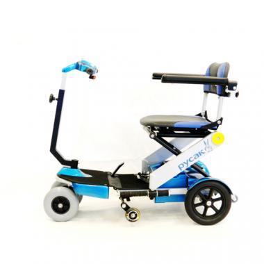 Электроскутер для пожилых и инвалидов Меркурий Русак. Компактные размеры