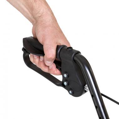 Ходунки-роллаторы для инвалидов и пожилых людей Армед FS965LH. Мягкие накладки на поручнях