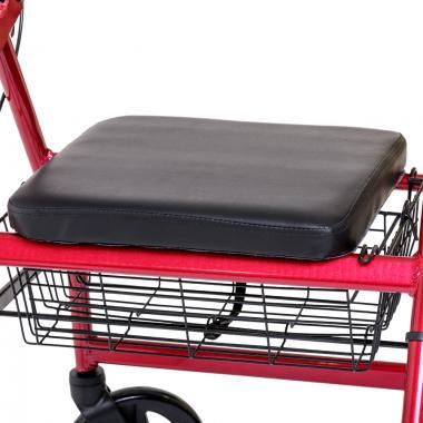 Ходунки-роллаторы для инвалидов и пожилых людей Армед FS965LH. Мягкое сиденье