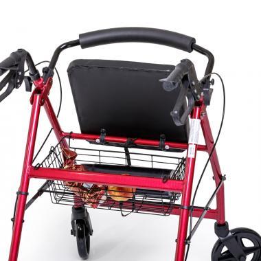 Ходунки-роллаторы для инвалидов и пожилых людей Армед FS965LH. Корзина для вещей