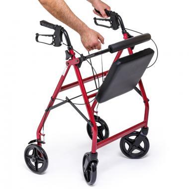 Ходунки-роллаторы для инвалидов и пожилых людей Армед FS965LH. Складная конструкция