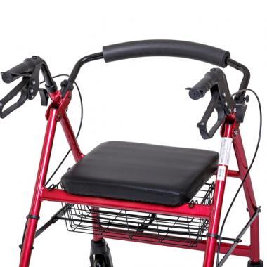 Ходунки-роллаторы для инвалидов и пожилых людей Армед FS965LH. Спинка