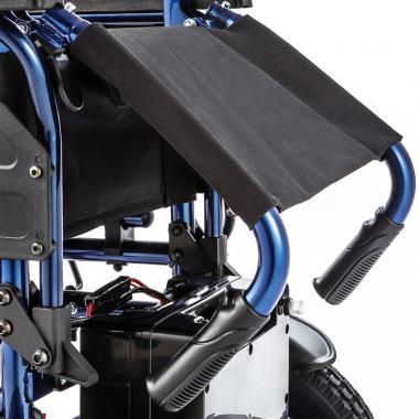 Инвалидное кресло-коляска с электроприводом Ortonica Pulse 110. Компактность