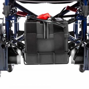 Инвалидное кресло-коляска с электроприводом Ortonica Pulse 110. Дальность хода